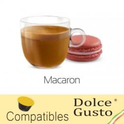 Capsules arôme Macaron compatibles Dolce Gusto ® de Caffè Bonini