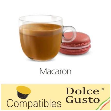 Amaretto flavoured Caffè Bonini, Dolce Gusto ® compatible pods.