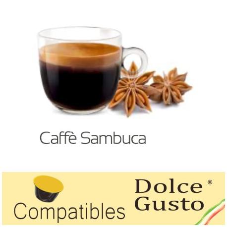 Star anise liquor flavoured Caffè Bonini, Dolce Gusto ® compatible pods.