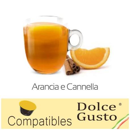 Tisane Orange Cannelle compatibles Dolce Gusto ®