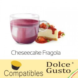 Dolce Gusto ® compatible Strawberry Cheesecake drink