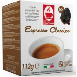 Classico Capsules compatible with Dolce Gusto ®.
