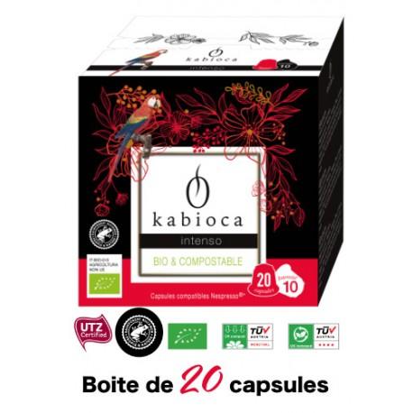 50 Kabioca capsules compatible Nespresso ® Multi pack