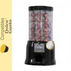 Distributeur automatique de capsules DOLCE GUSTO ® monnayeur pièce de 1 €