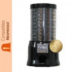 Distributeur automatique de capsules Nespresso ® monnayeur pièce de 0.50 €