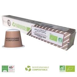 Capsules Biodégradables Honduras Bio compatibles Nespresso ® Relief