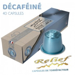 Capsules Relief DECA compatibles Nespresso ®