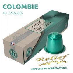 Low intensity coffee capsules, Nespresso® compatible.