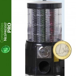 Distributeur automatique de capsules Nespresso ® Pro monnayeur de 1 €