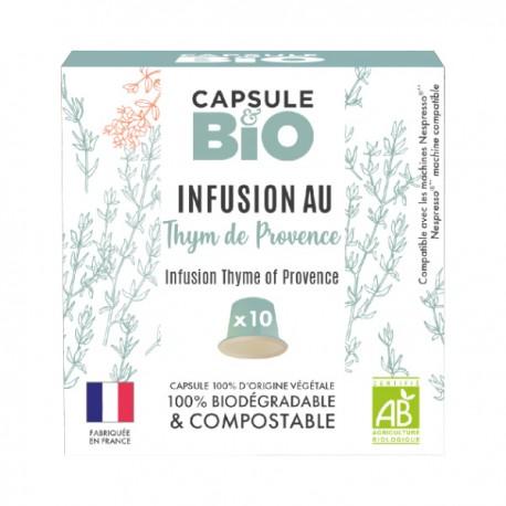 Infusion Thym de Provence Capsules Bio compatibles Nespresso ®