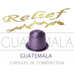 Colombia Relief capsules compatible with Nespresso ®.