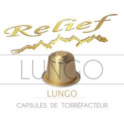 Capsules Relief Lungo compatibles Nespresso ®