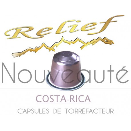 Relief Costa Rica capsules compatibles Nespresso ®