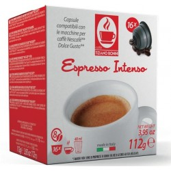 Intenso capsules compatible with Dolce Gusto ®.