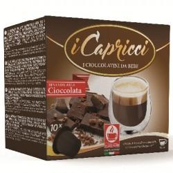 Capsules de chocolat compatibles Nespresso ®