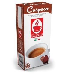 Corposo capsules compatibles Nespresso ® des Caffè Bonini