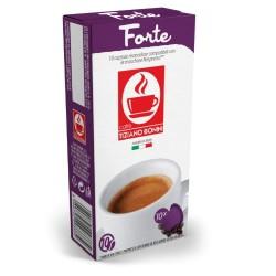 Forté capsules compatibles Nespresso ® de Caffè Bonini