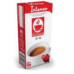Intenso capsules compatibles Nespresso ® de Caffè Bonini