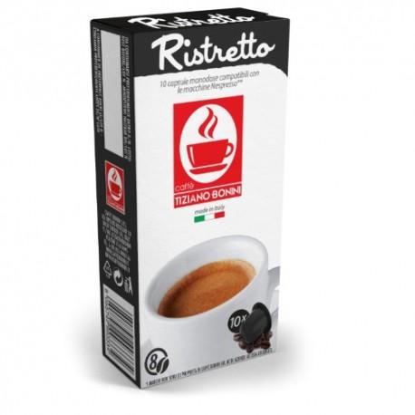 Ristretto capsules Caffè Bonini compatibles Nespresso ®