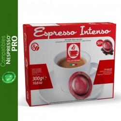 Dosettes compatibles Nespresso Pro Intenso Bonini