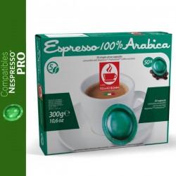 Nespresso Pro Espresso Bonini compatible capsules