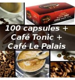 Capsul'in Pack 100 Le Palais + Tonic