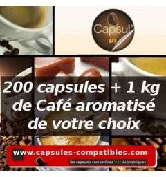 Pack capsul'in 200 Liberté