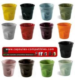 Espresso cup Revol crumpled