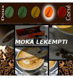 MOKA coffee LEKEMPTI for compatible Nespresso ® capsules