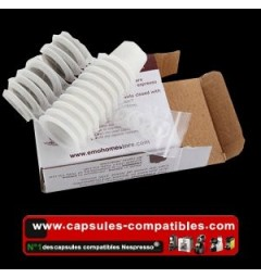 Capsules compatibles Nespresso® Rechargeables