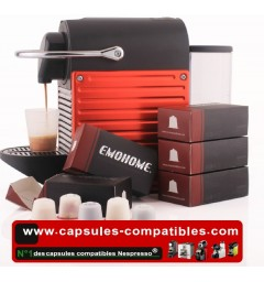 20 Emohome Capsules compatibles Nespresso® Rechargeables