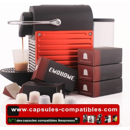40 Capsules compatibles Nespresso® Rechargeables