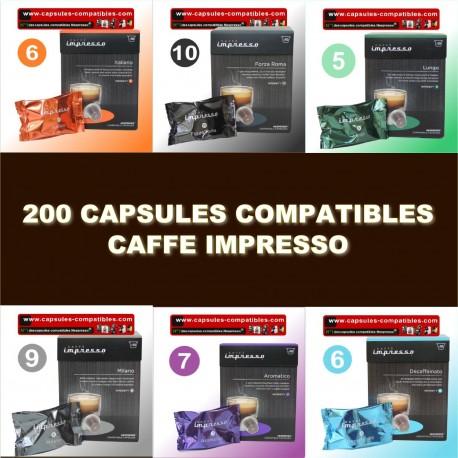 200 capsules Caffe Impresso
