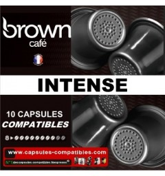 Capsules Brown Intense