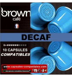 Capsules Brown Décaf