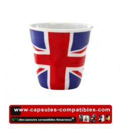 Revol crumpled cup with english flag