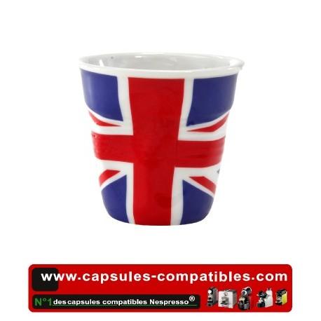 Tasse Révol froissée avec drapeau Anglais