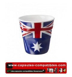 Revol crumpled cup with Australian flag
