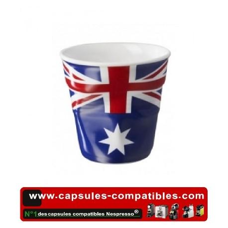 Tasse Révol froissée avec drapeau Australien