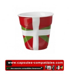 Revol crumpled cup with Basque flag