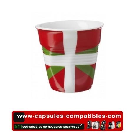 Tasse Révol froissée avec drapeau Basque