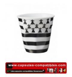 Revol crumpled cup with flag Breton