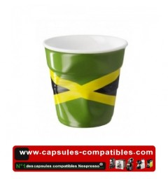 Revol crumpled cup with the Jamaican flag