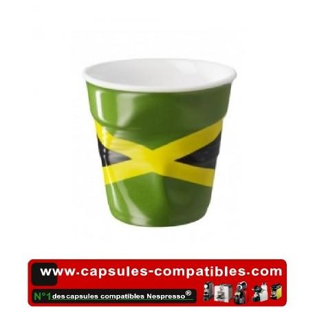 Tasse Révol froissée avec le drapeau Jamaïcain
