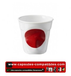 Revol crumpled cup with Japan flag