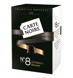 N°8 Carte Noire capsules, Compatible with Nespresso ®.