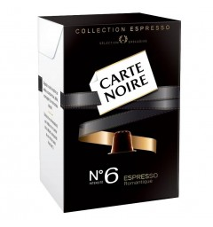 Capsules Carte Noire N°6 – capsules compatibles Nespresso®