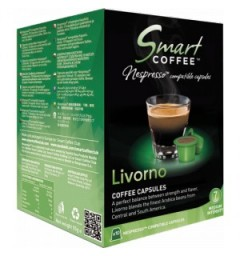 Smart Coffee - LIVORNO - Capsules Nespresso® Compatibles