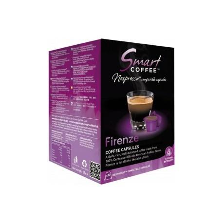 Smart Coffee - FIRENZE - 10 Capsules Compatibles Nespresso