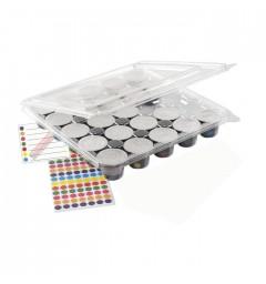 Boite de stockage capsules compatibles (livrée sans capsules)